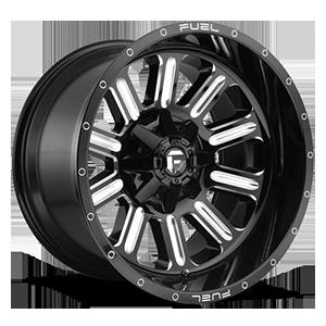 Fuel 1-Piece Wheels Hardline - D620
