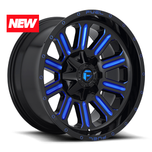 Fuel 1-Piece Wheels Hardline - D646
