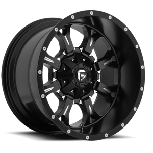 Fuel Deep Lip Wheels Krank - D517