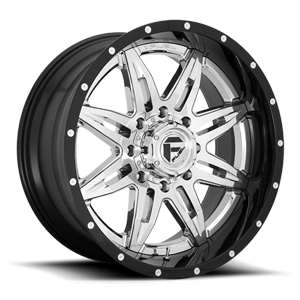 Fuel Dually Wheels Lethal Dually Front - D266