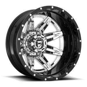 Fuel Dually Wheels Lethal Dually Rear - D266