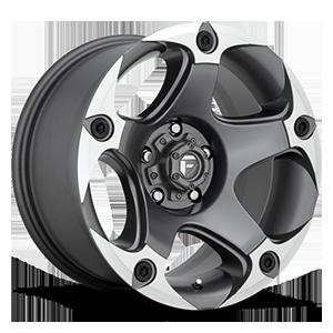 Fuel 1-Piece Wheels Menace - D684