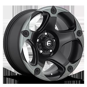 Fuel 1-Piece Wheels Menace - D685