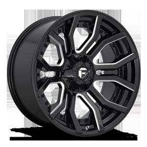Fuel 1-Piece Wheels Rage - D711
