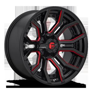Fuel 1-Piece Wheels Rage - D712