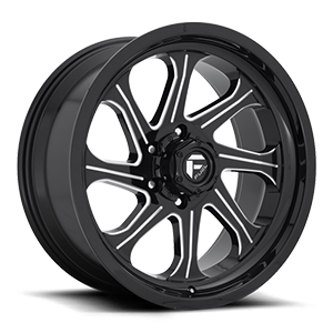 Fuel 1-Piece Wheels Seeker - D676