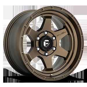 Fuel 1-Piece Wheels Shok - D666