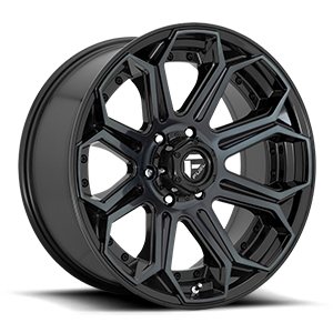 Fuel 1-Piece Wheels Siege - D704