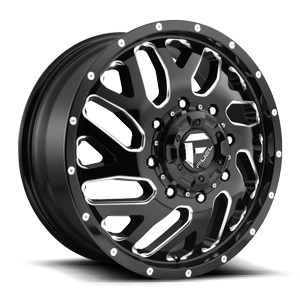 Fuel Dually Wheels Triton Dually Front