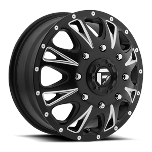 Fuel Dually Wheels Throttle Dually Front - D513
