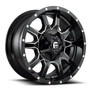 Fuel 1-Piece Wheels Vandal - D627