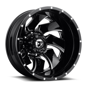 Fuel Dually Wheels Cleaver Dually Rear D239