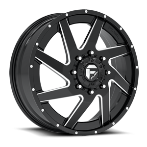 Fuel Dually Wheels Renegade Dually Front - D265