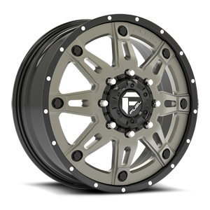 Fuel Dually Wheels Hostage II Dually Front - D232