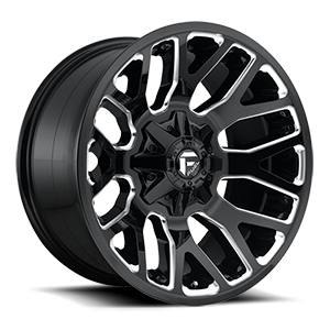 Fuel 1-Piece Wheels Warrior - D623