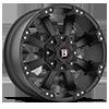 845 Morax Flat Black