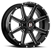 956 Razorback Gloss Black w/ Milled Windows