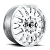 Fuel Dually Wheels FF45D - Front