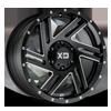 XD835 Swipe Satin Black Milled