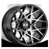 XD831 Chopstix Gloss Black Machined