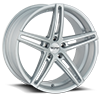 TR73 Silver with Milled Spoke