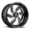 Fuel 1-Piece Wheels Turbo 6 - D582