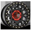 XS235 Grenade Beadlock Satin Black