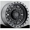 Abrams Textured Matte Gunmetal