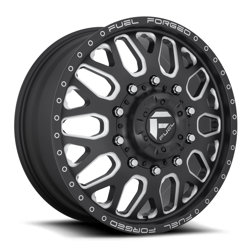 Fuel Dually Wheels >> Fuel Dually Wheels Ff19d Front Wheels Ff19d Front Rims