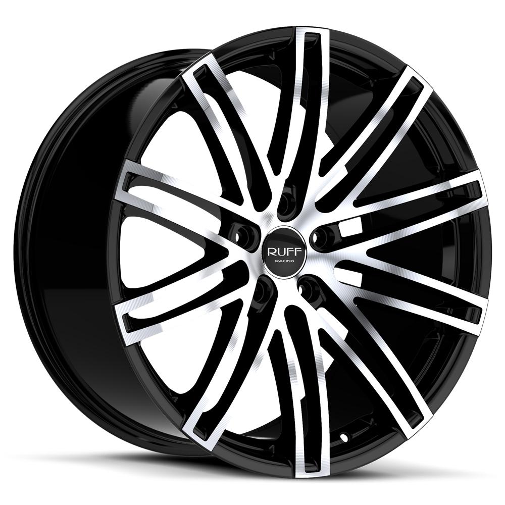 ruff racing r955 wheels r955 rims on sale  ruff racing r955